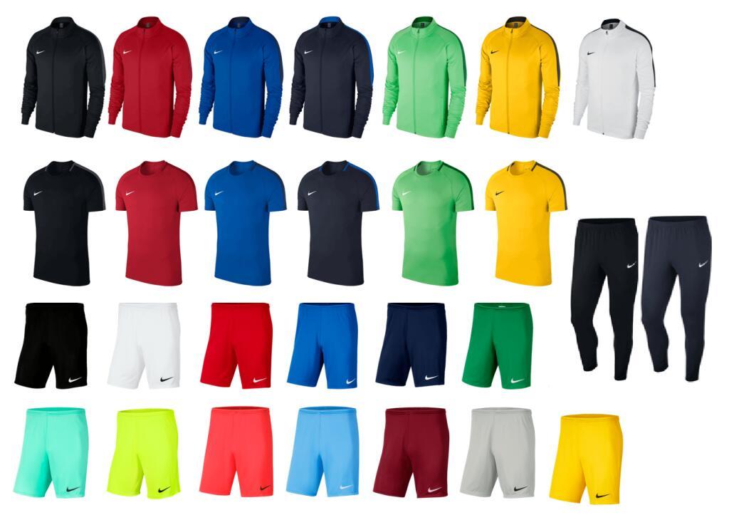 Nike trainingsset 4-delig (jack, broek, shirt en broekje) voor €60 met code