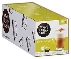 [UPDATE] Dolce Gusto Cappuccino (30 cups) 3-pack voor €15,47 @ Amazon.de