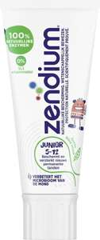 Zendium Tandpasta Junior 5-12 jaar 75 ml voor €0,99 @ Bol.com