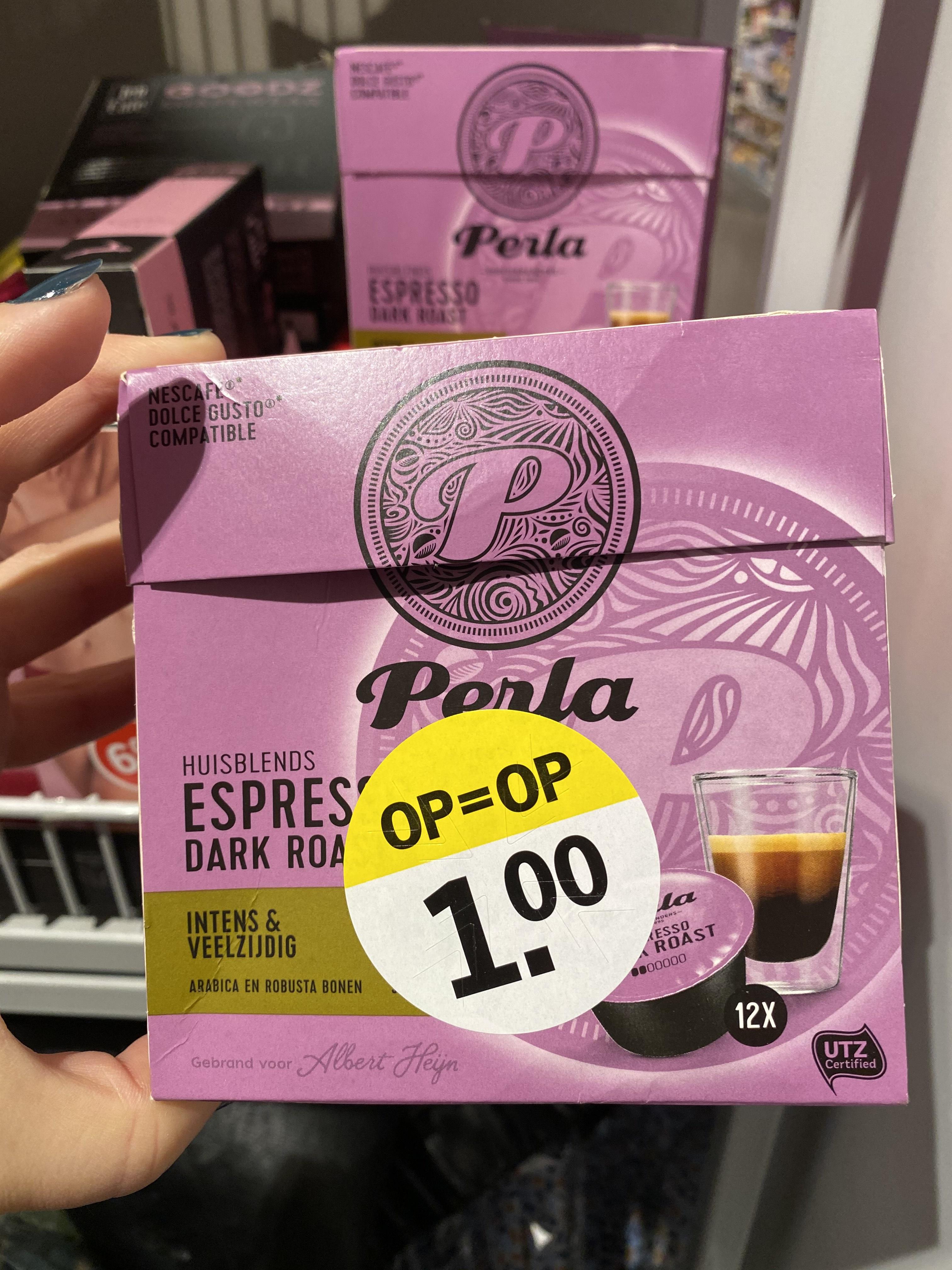 [lokaal] Perla koffie cups @ Albert Heijn Hilversum