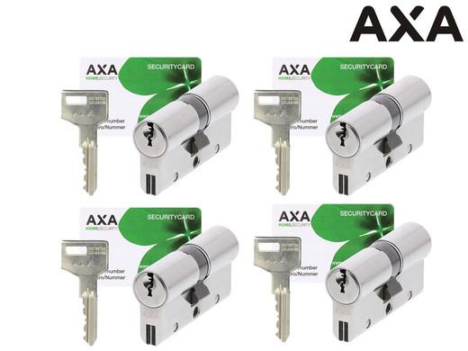 4x AXA Dubbele Veiligheidscilinder Xtreme Security 30-30