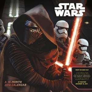 Star Wars: The Force Awakens Kalender voor €2,42 @ Zavvi