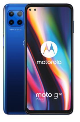 [ING Rentepunten] Motorola Moto G 5G Plus 6GB/128GB Blue