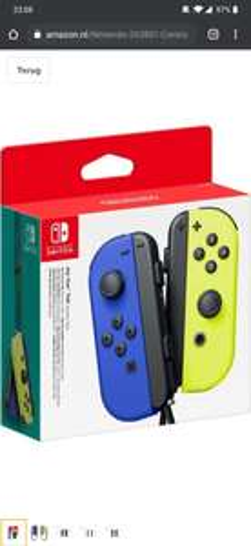 Nintendo joy con set (blauw + groen)