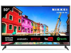"Nikkei 50"" NU5018S Ultra HD DLED Smart TV"
