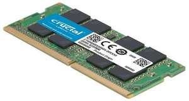 Crucial 16GB • DDR4 (SODIMM) • 2.666MT/s • kit van 1