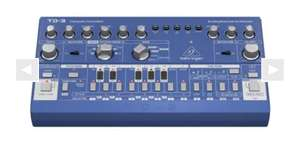 Behringer td-3 blauw bass synth