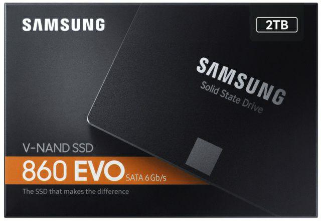 Samsung 860 EVO 2TB SSD (SATA)