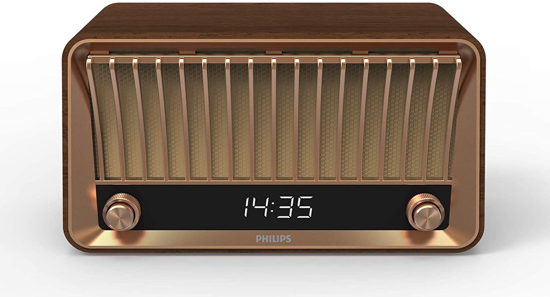 Philips VS700 Vintage DAB+ Speaker (Radio en Bluetooth)