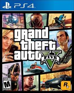 GTA V download versie (PS4 - Playstation Store)