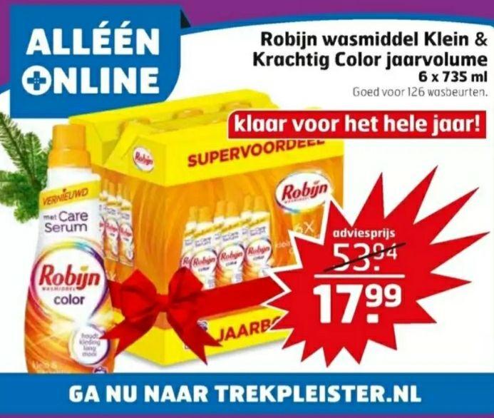 [Trekpleister only online] Robijn super voordeelpack