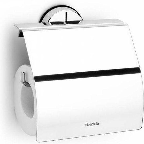 Brabantia Brilliant Steel Toiletrolhouder voor €12,50 @Bol.com (externe verkoper)