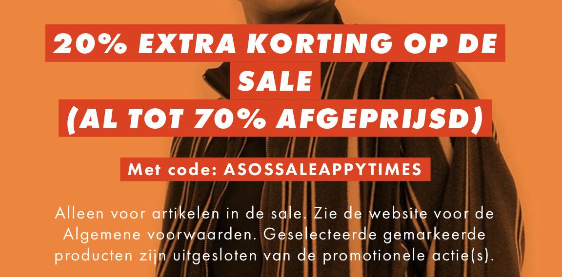 20% extra korting op de sale tot 27/12