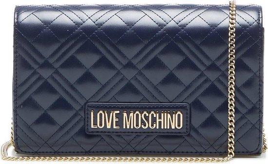 Love Moschino - Borsa Quilted Nappa Pu - Navy crossbodytas voor 65,39 bij Bol.com