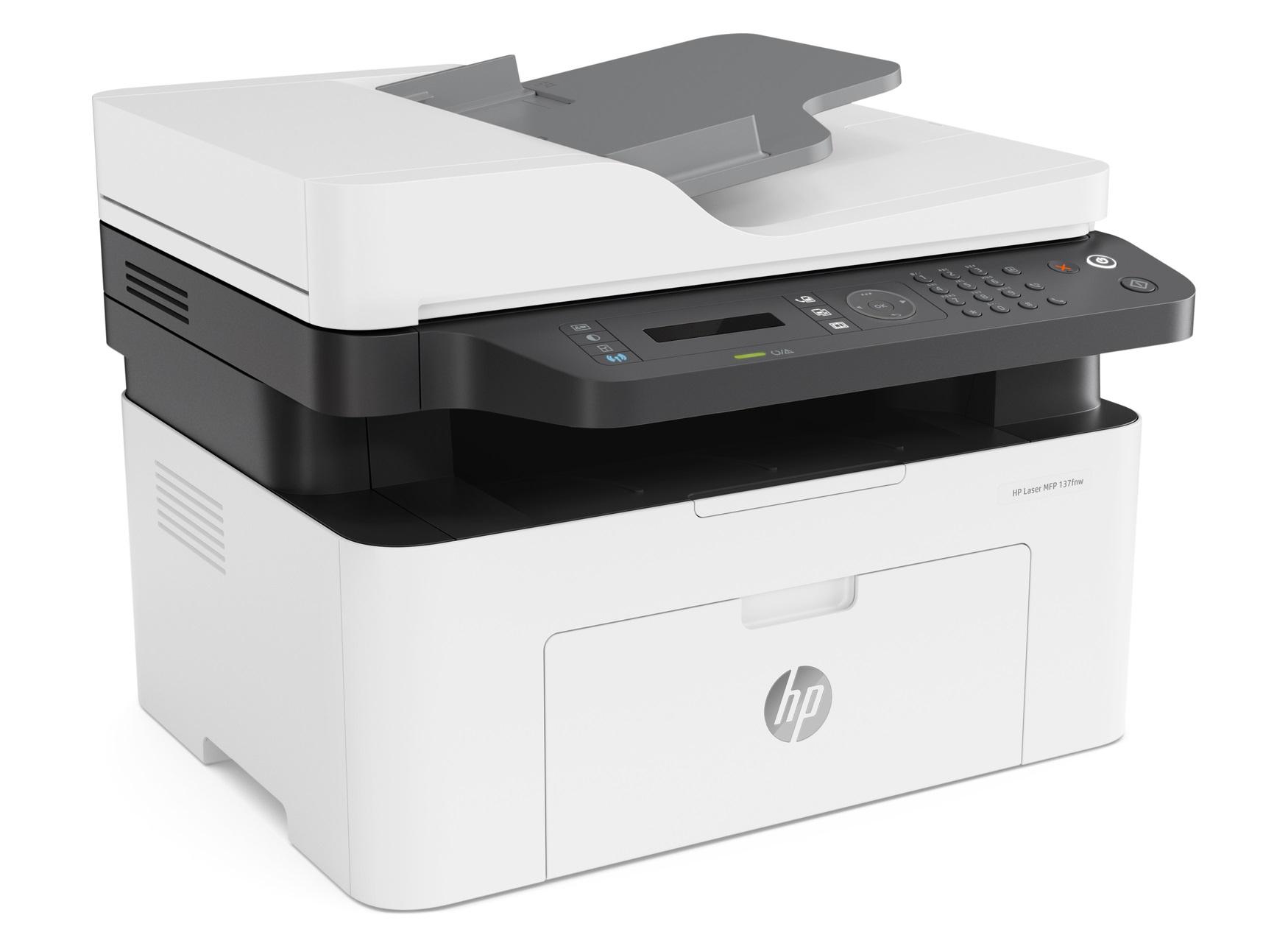 HP Laser MFP 137fnw laserprinter voor €51,17 @ Amazon.nl