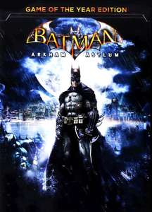 Batman Arkham Asylum goty steam key