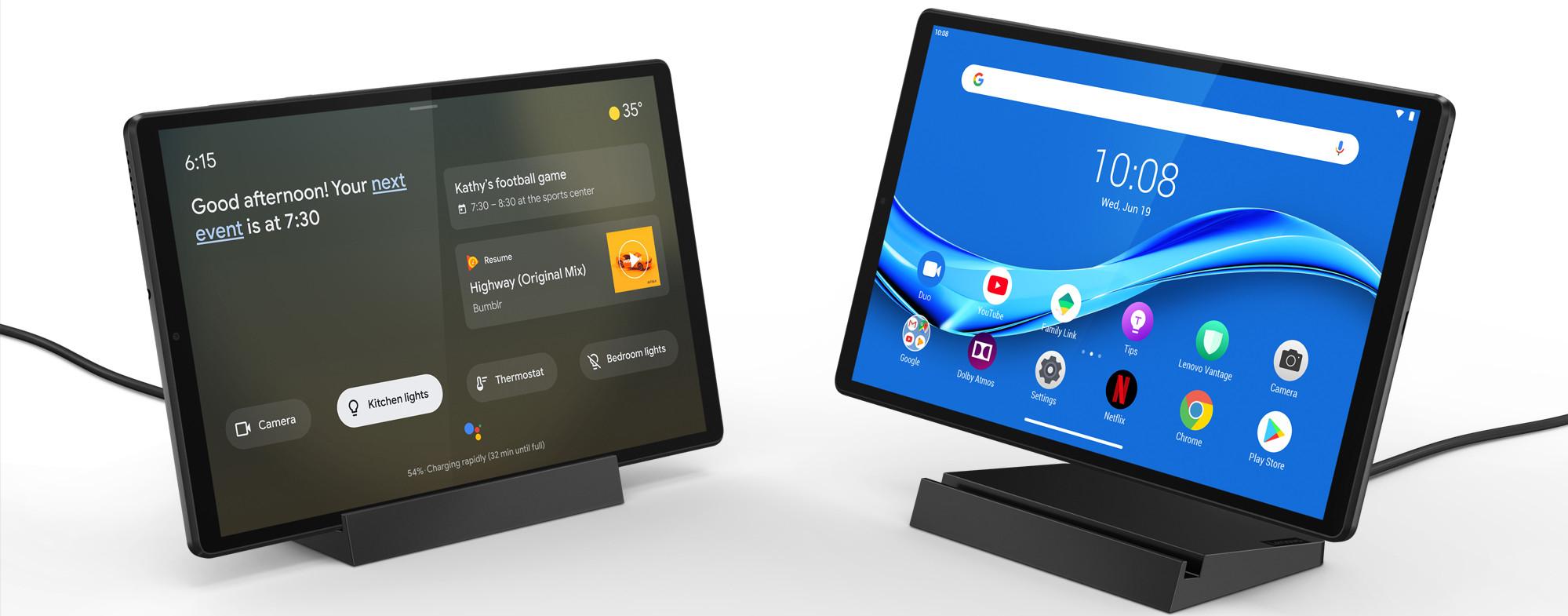 Lenovo Smart Tab M10 Plus (2nd gen) 4GB/128GB Wifi Grijs + Smart Laadstation