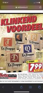 Alle La Trappe 2 six-packs 7,99