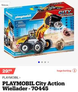 Playmobil city action - wiellader 70445