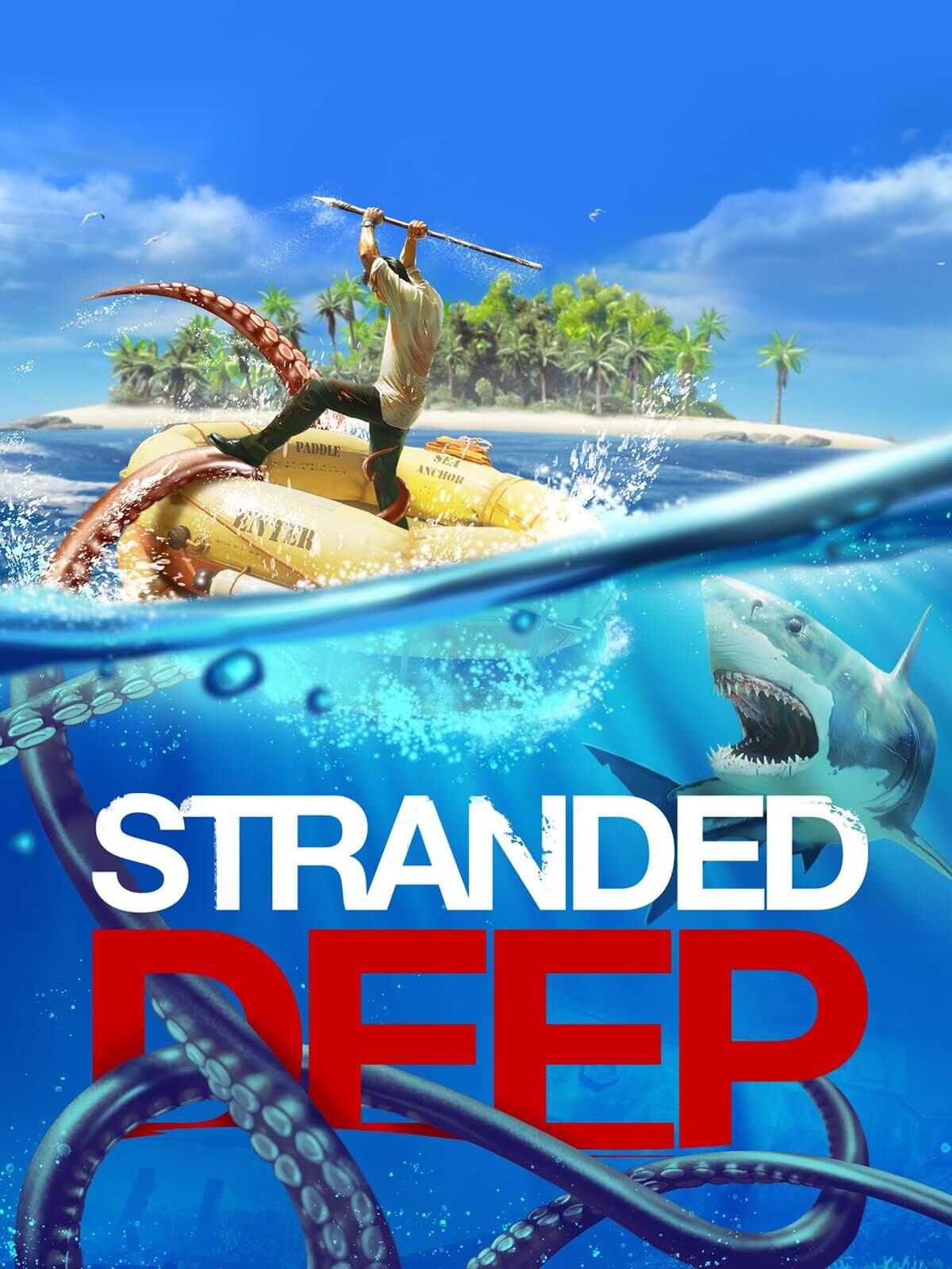 """GRATIS """"Stranded Deep"""" op Epic Games om 17:00u"""