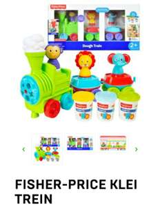 Fisher-Price - Klei trein