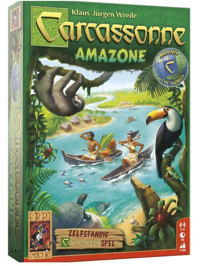999 Games Carcassonne Amazone