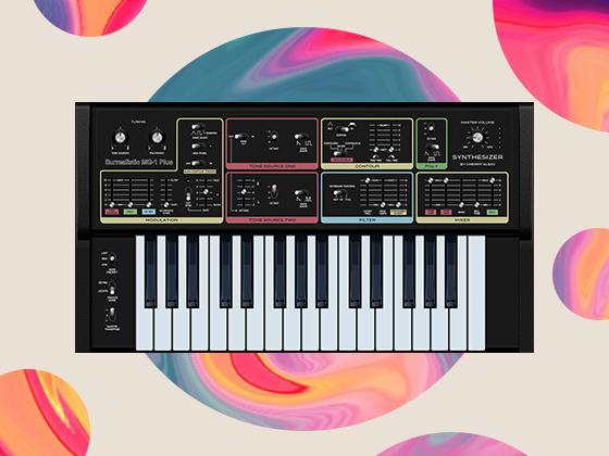 Free Surrealistic MG-1 Plus Synthesizer