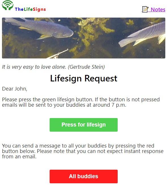 Gratis webdienst LifeSigns om veiliger alleen te wonen