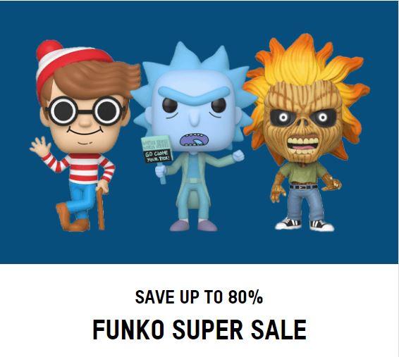 Funko (50-80% korting)