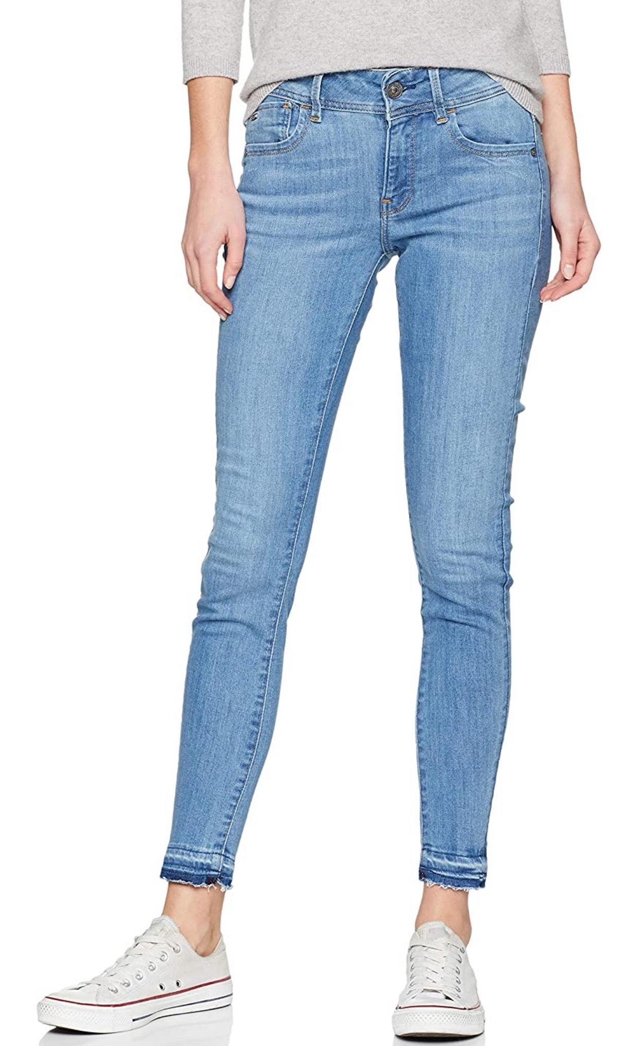 G-STAR RAW Dames Jeans Lynn Mid Taille Skinny Geribbelde Ankle