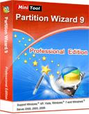 Gratis - MiniTool Partition Wizard Pro 9 @ sharewareonsale