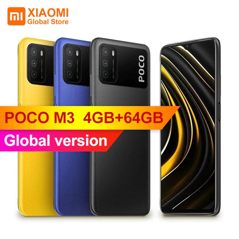 POCO M3 4GB+64GB smartphone + Redmi Airdots 2