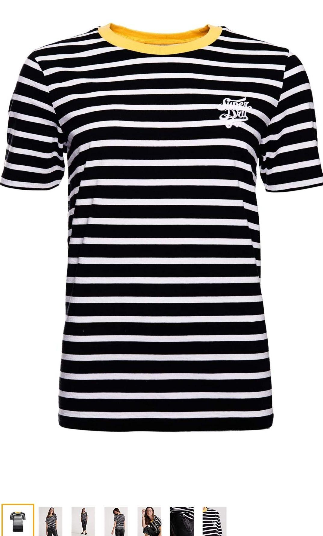 Superdry Gestreept Dakota Graphic dames T-shirt