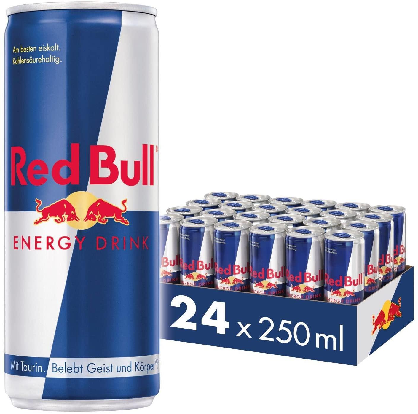 Red Bull Energy Drink Regular 250 ml (24-Pack)
