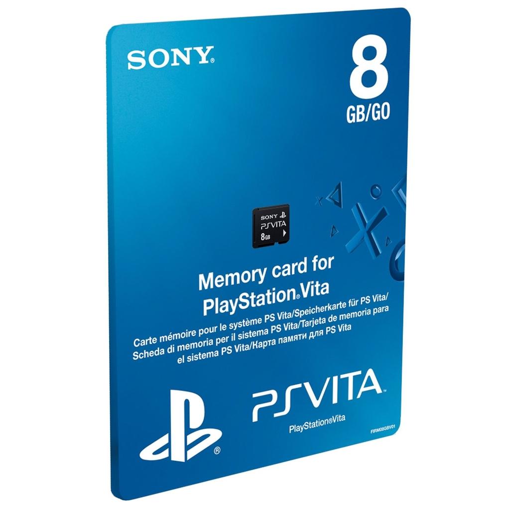 Sony PlayStation Vita Memory Card 8GB voor €10 @ Dixons