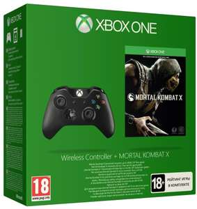 Game aanbiedingen (o.a. Mortal Kombat X + Xbox One Controller - €34,99) @ Dixons (mobiele website)