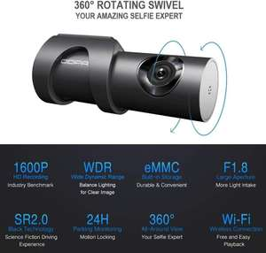 DDPAI Mini 3 Dashcam met 1600P