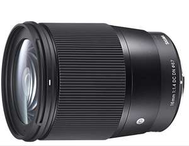 Sigma 16mm F1,4 DC DN Contemporary lens voor Sony-E lensbajonet