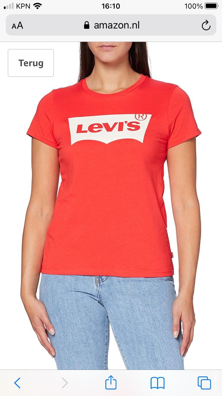 Levi's dames T-shirt