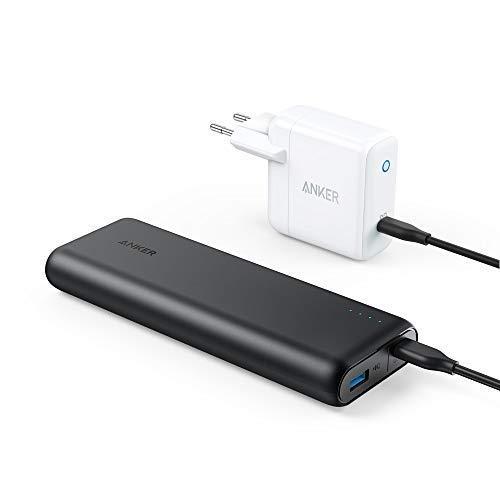 Anker PowerCore Speed 20000PD, 20100mAh powerbank met 30W Power Delivery wandlader, USB-C @ amazon.de