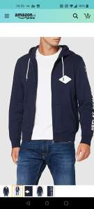 Replay heren sweater blue