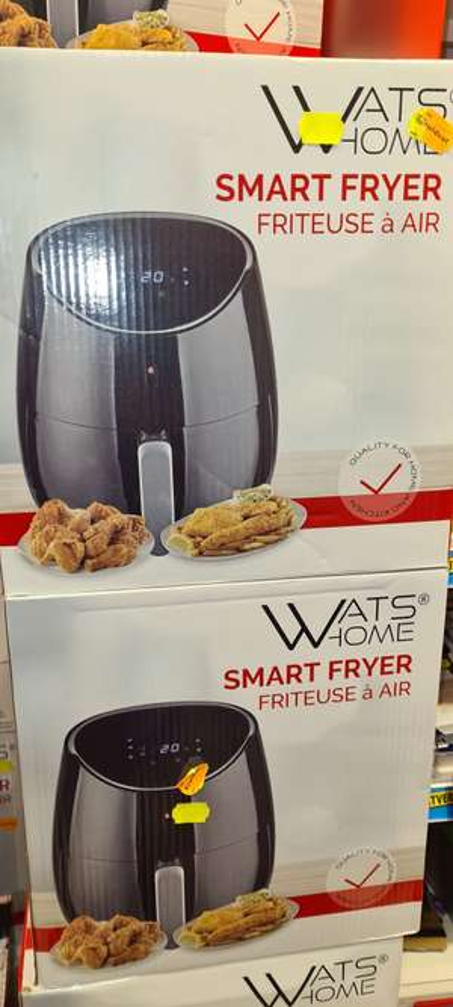 Watshome smart airfryer kruidvat Den Haag
