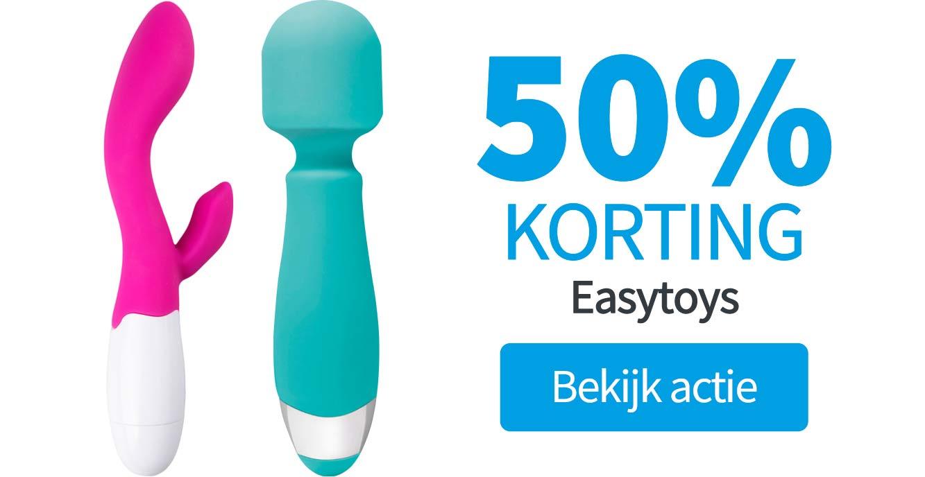 50% korting op easytoys