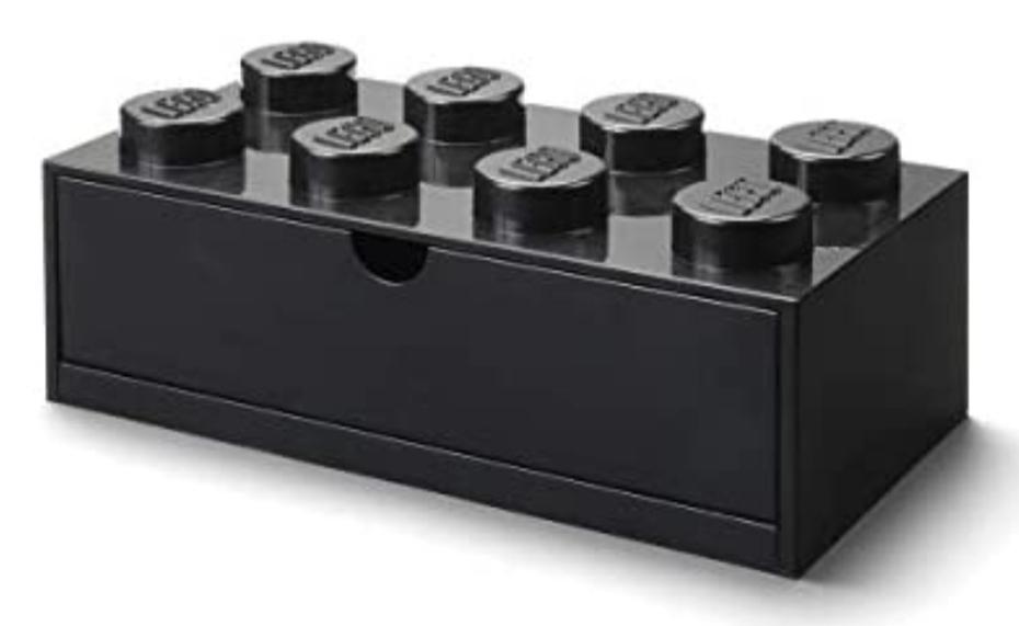 Lego Brick 8 opberglade / bureaulade 18,30 bij Amazon.nl