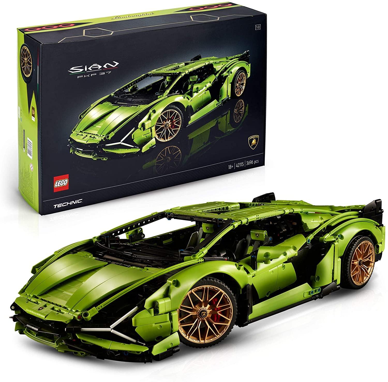 Lego technic Lamborghini Sián FKP 37