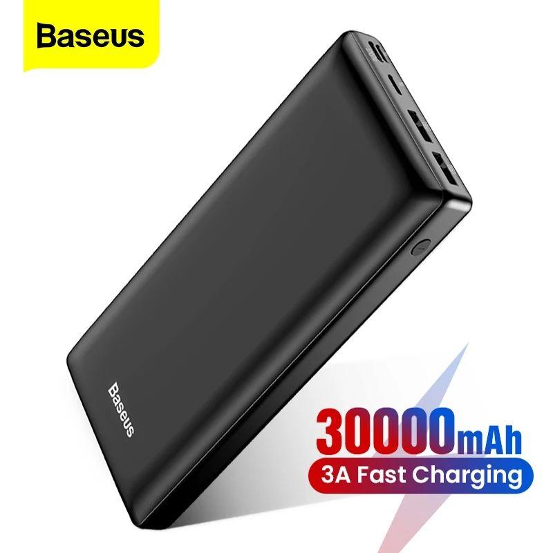 Baseus Power Bank 30000Mah Powerbank Usb C