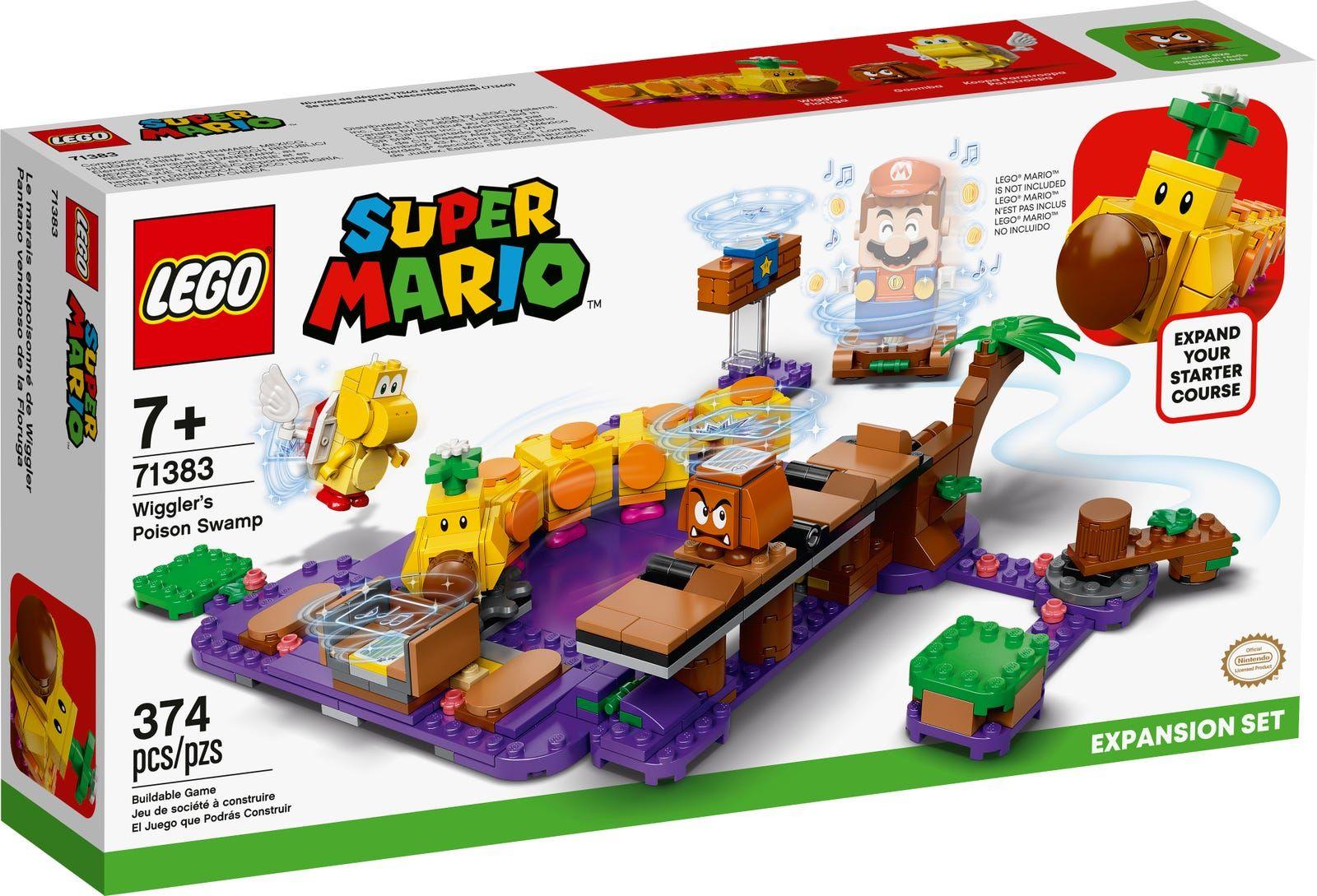 LEGO 71383 Super Mario Wigglers Poison Swamp