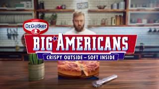 Dr. Oetker Big American Pizza's 2 voor €4 @ Jumbo Supermarkten
