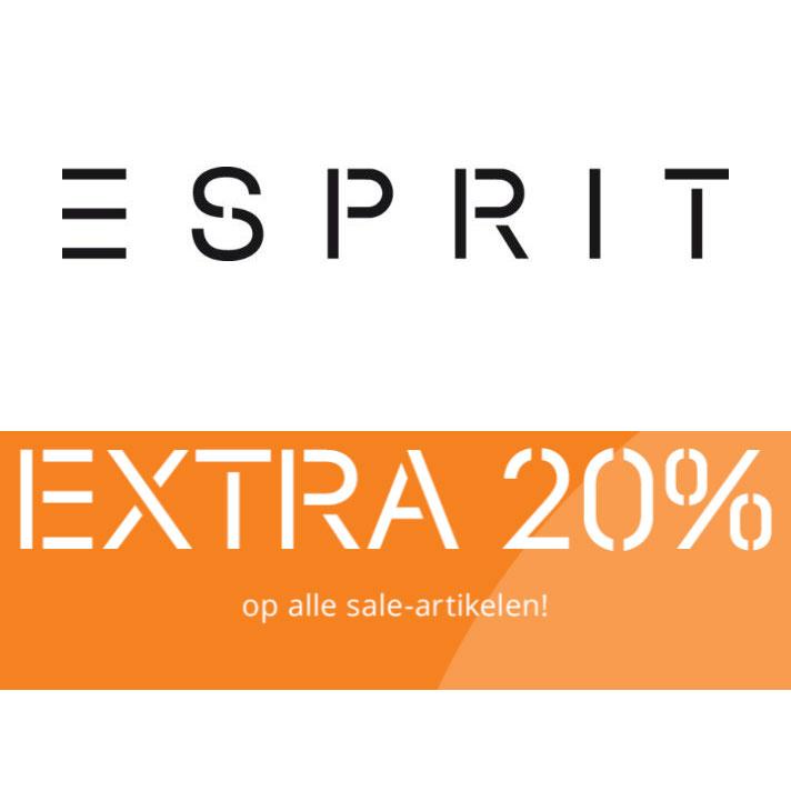 20% EXTRA korting op sale @ Esprit