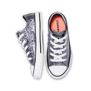 Converse kids 'Coated Glitter' sneakers @ About You